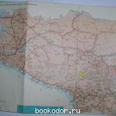 Кавказ. Туристическая схема.