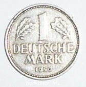 1 немецкая марка. 1 DEUTSCHE MARK.