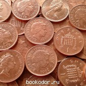 Великобритания. 20 монет - одним лотом. 1975 г. 1 RUB