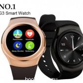 мужские часы SmartWatch G3 круглые
