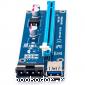 Райзер для видеокарты pci e 16x для майнинга 4 pin. USB 3,0 PCI-E pci e Riser Express 1X 4x 8x 16x удлинитель адаптер SATA 15pin. до 6pin