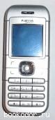 Телефон Nokia 6030, серебристый. 2010 г. 550 RUB