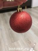Набор новогодних (елочных) шаров (6 штук). 150 RUB