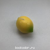 Свеча в форме лимона (2 штуки). 80 RUB