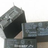 Электромагнитное реле OMRON G5Q-1-EU DC24V 24 В 5A. 5-контактный G5Q-1.