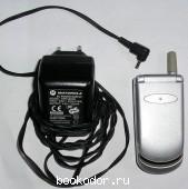 Телефон MOTOROLA. В рабочем состоянии. С зарядным устройством. 2002 г. 190 RUB